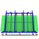 A shapel L Shape Glass Slab Rack For Storage And Transport
