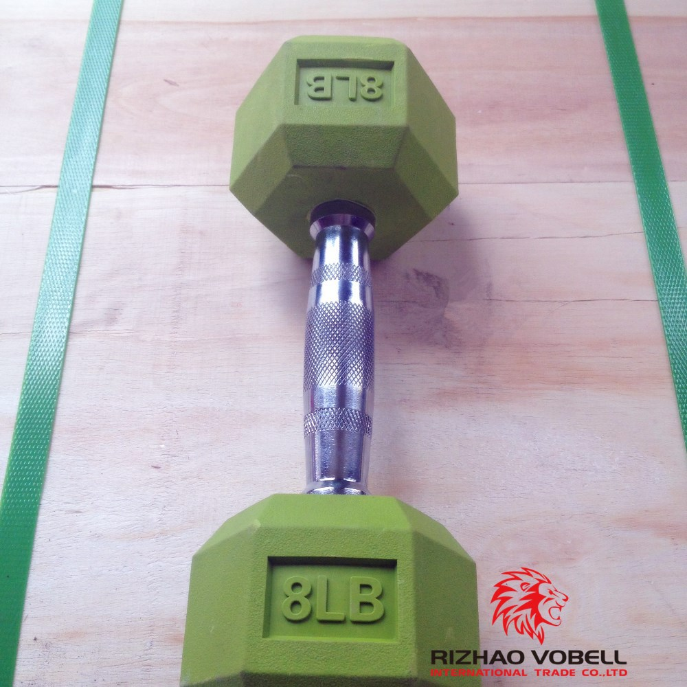 china hex dumbbell weight set price wholesale dumbbell