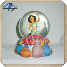 Hot Products High Quality Cheap Water Transfer Printing Water Globe Decorate Christmas Ball Ornaments