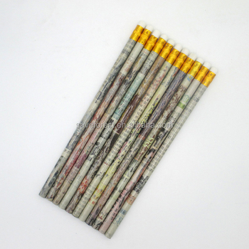 7 inches promotional custom logo standard high quality bass non-wooden HB pencil