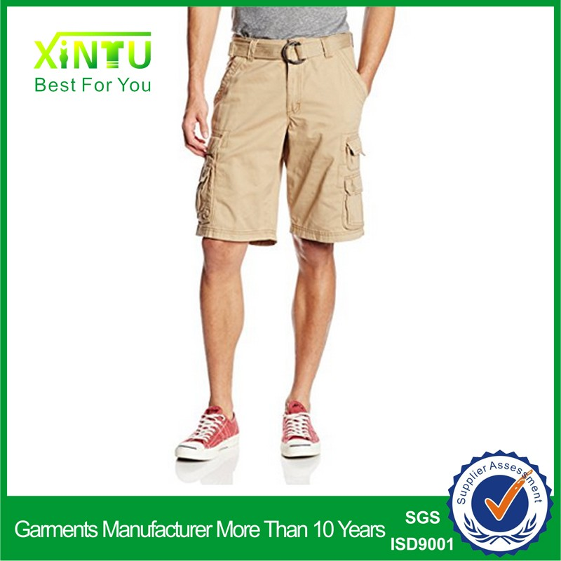 Wholesale Hot New Products Men 6 Pocket 3/4 Cargo Shorts