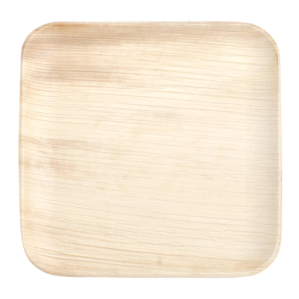 2018 ECO-friendly Sustainable party areca disposable Square shape Palm leaf plates