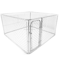 Manufacturers cheap chain link 5*10*6ft dog kennel/cage for sale