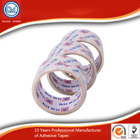 Brown BOPP Packing Tape For Packing Cartons With Water Based Acrylic Adhesive