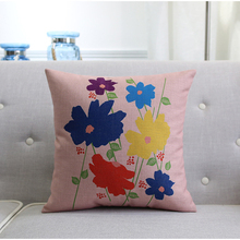 New popular design floral ribbon embroidery cushion covers design