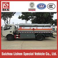 Fuel Bowser Tanker Capacity 8000L Oil Truck For Sale