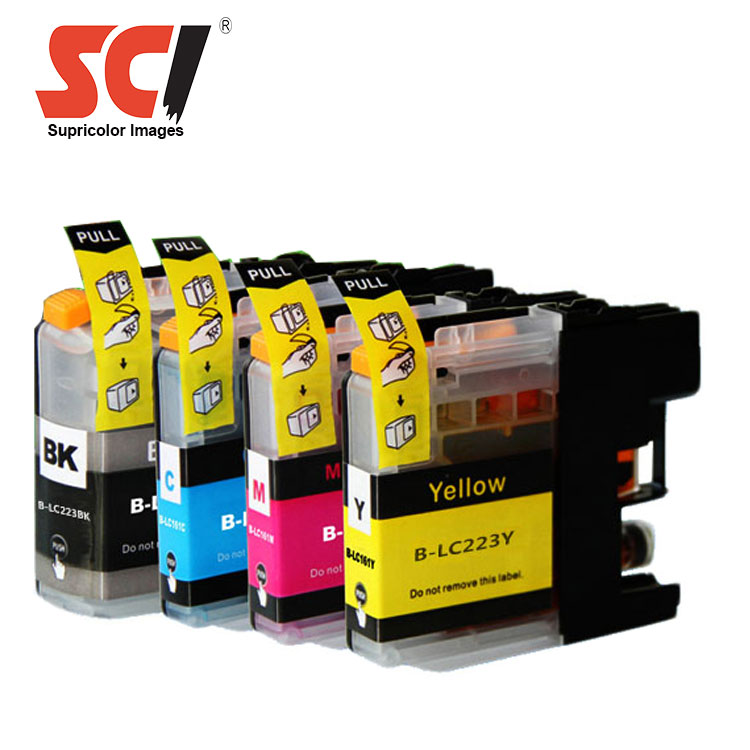 compatible ink cartridge LC223 for brother DCP-J562DW/MFCJ4420DW/J4620DW/J4625DW printers