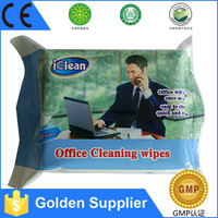Golden Supplier Factory Direct Price for Office cleaning wet wipes