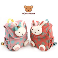 wholesale children's school bag,kindergarten school bag with rabbit