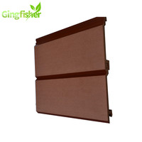 Green building Eco wall panel/Outdoor Rot Resistant Wood Plastic Composite wall board