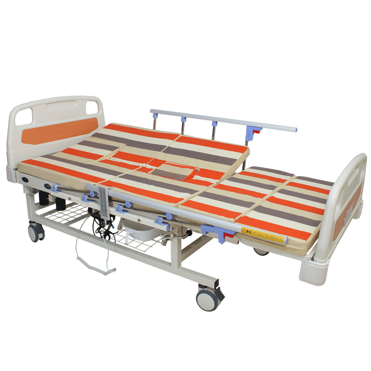 Bedriddern Hospital eletctric bed with toilet