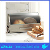 2014 new design Stainless steel bread bin/ bread box / canister set with window