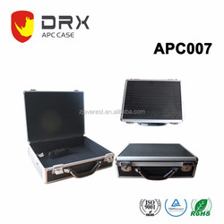 Cheap silver Aluminium case with foldable handle(APC007)