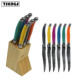 New style stainless steel dinner knife 6 pcs laguiole bee steak knife