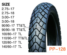 high quality tubeless motorcycle tyres 300-17 275-17 90/90-17 110/90-17 TL