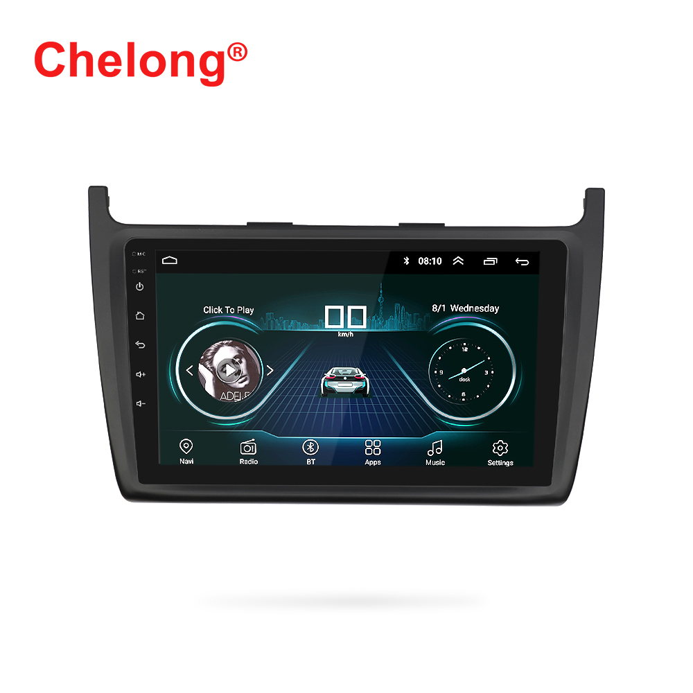 9 inch navigation android 8.1 car radio for v <strong>w</strong> new POLO DVD player Auto Stereo