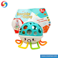 LS3405270 High quality baby toys Octopus jelly baby hand bell Solf cartoon rattle ball toys for kids