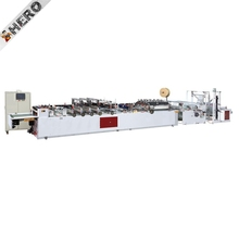 fiber full automatic computer controlled four lines bag making machine