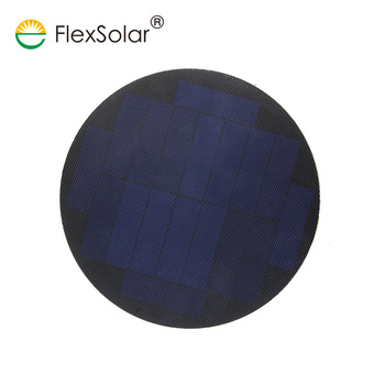 SMT small size private label OEM round solar panel charger