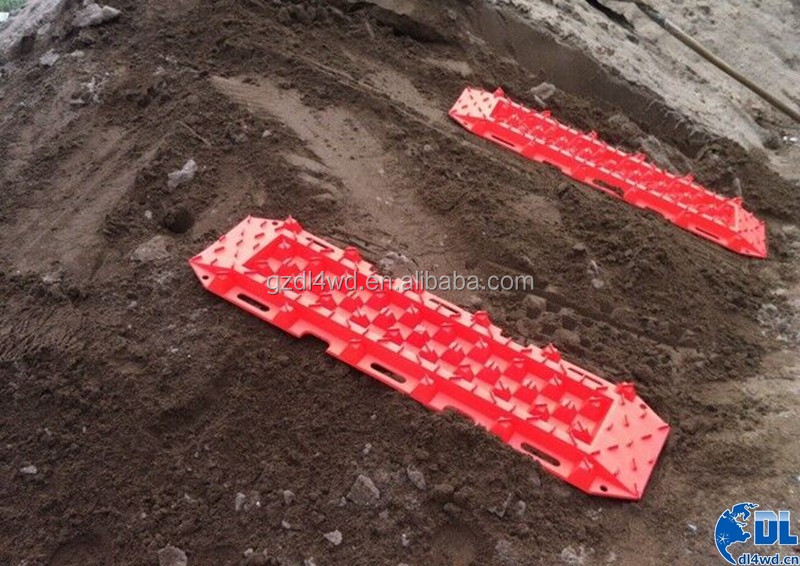PA66 Sand and Snow Recovery board for Vechile 4x4 Sand track