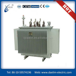 500kva 3 phase oil immersed toroidal 2 windings type electrical