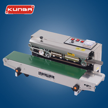 SF-150W continuous band sealer plastic bag sealing machine
