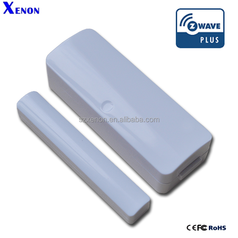 Xenon Z-wave Smart home window door sensor with wireless Home Automation Z-wave Window sensor magnetic alarm
