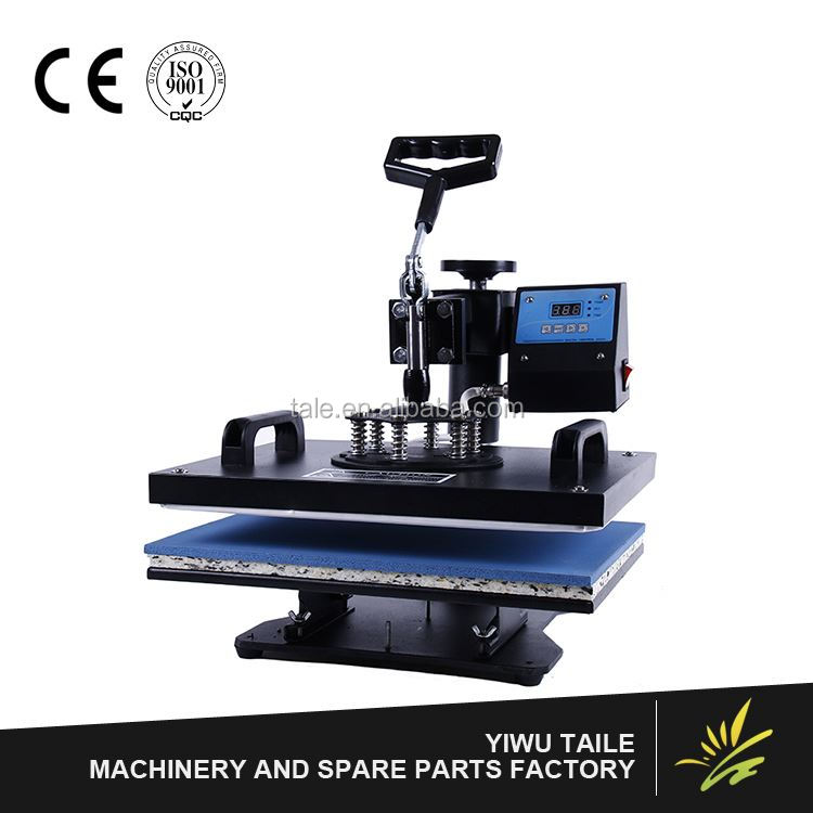 New product superior quality bigger size pneumatic lanyard heat press machine with different size