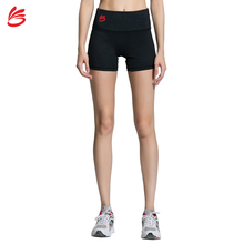 Wholesale Spandex High Waisted Custom Compression Sports Fitness Yoga Booty Womens Running Shorts