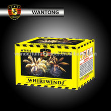 36 shots whirlwinds cake fireworks from liuyang factory