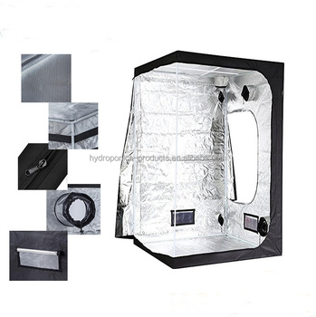 Eco-freindly Greenhouse Hydroponic 210D/600D1680D high reflective dark room indoor grow tent