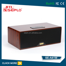 HiFi wooden bluethooth speaker A-41 , Bass jazz bluetooth speaker , prortable bluetooth speaker