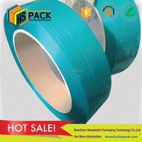 PET material machine packing application polyester strap for coconut fiber band packing