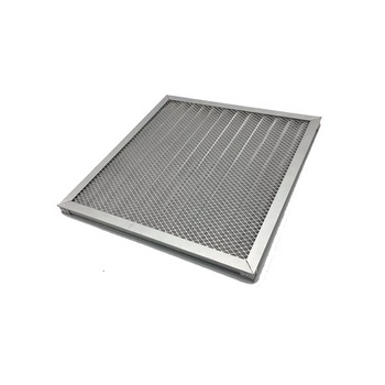 High quality design durable washable metal mesh work air filter