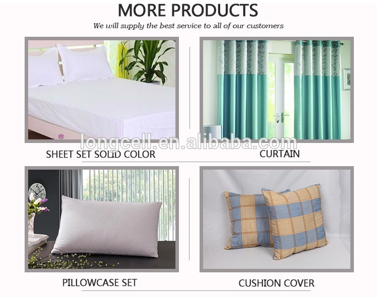 Normal flat cotton duvet cover sheet set solid color