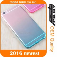 Rainbow Gradient TPU Ultra Soft Thin Clear Gel Case Skin Cover for samsung NOTE 3 soft TPU CASE