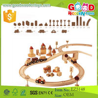New Design in 2015 Beechwood Kids Toy Wooden Train Track for Sale