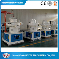 Wood Pellet Mill For Hard And Softwood / Tree Branch Pellet Making Mill Machine