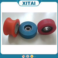 China goods direct sale pu wheels and castors