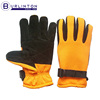 Highly Visible Goat Skin Split Leather