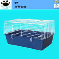 Welded wire mesh rabbit breeding cages