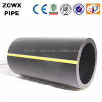 reliable hdpe pe80 pipe for gas supply