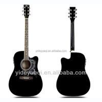 YIDE 41 inch professional acoustic electric basswood guitar
