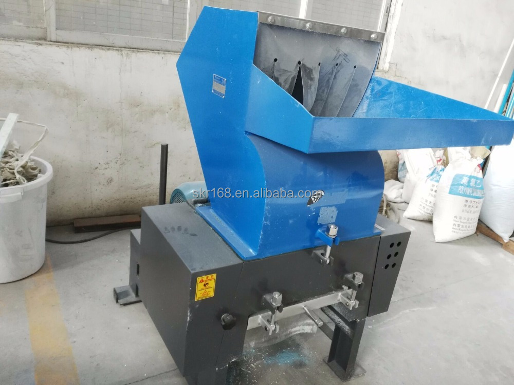 Powerful Plastic crusher for recycling waste plastic profiles, pipes