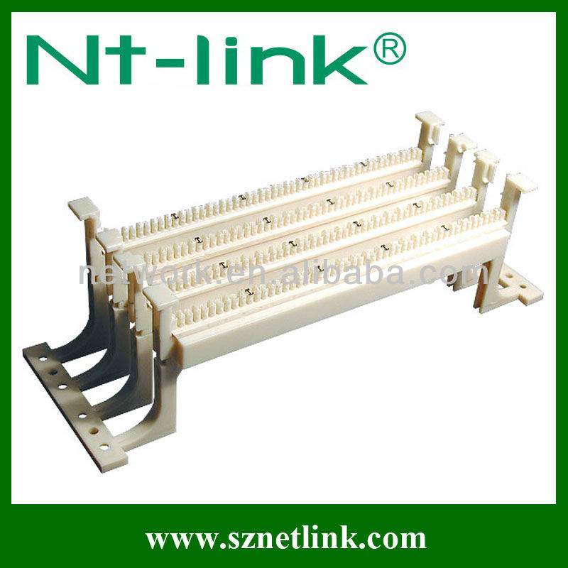 Audio Telephone 50/100 pairs Telephone Patch Panel