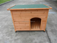 Outdoor Wood Dog House SD007