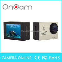 H16 Wireless Underwater action 1080P WIFI 2.0'' HD 170 Degree View Angle outdoor camera