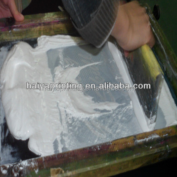 waterbased high density textile screen printing white ink for t shirts