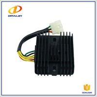 Chongqing Chinese Scooter Spare Parts 12v Motorcycle Voltage Regulator Rectifier