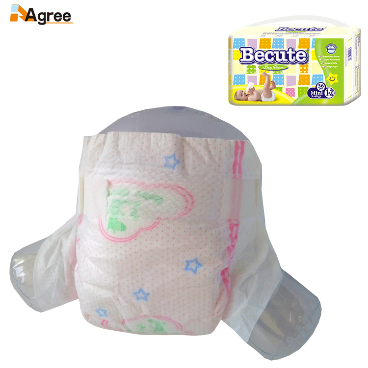 A Grade Disposable Clothlike Magic Tape European Baby Diapers